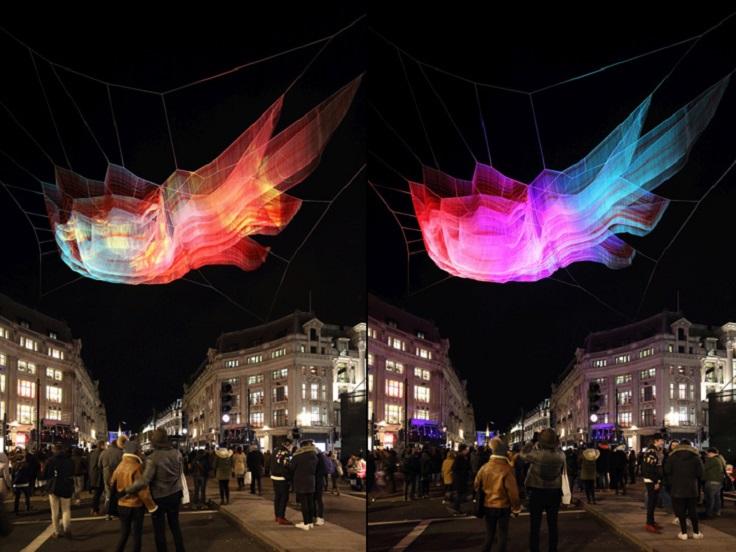 Light Installation by Janet Echelman at Lumiere London 2016 4 lumiere london Light Installation by Janet Echelman at Lumiere London 2016 Light Installation by Janet Echelman at Lumiere London 2016 4
