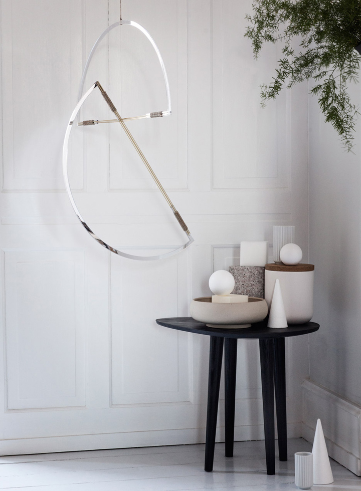 Geometric Lighting Design by Elkeland lighting design Geometric Lighting Design by Elkeland Mirror Mobiles by Elkeland