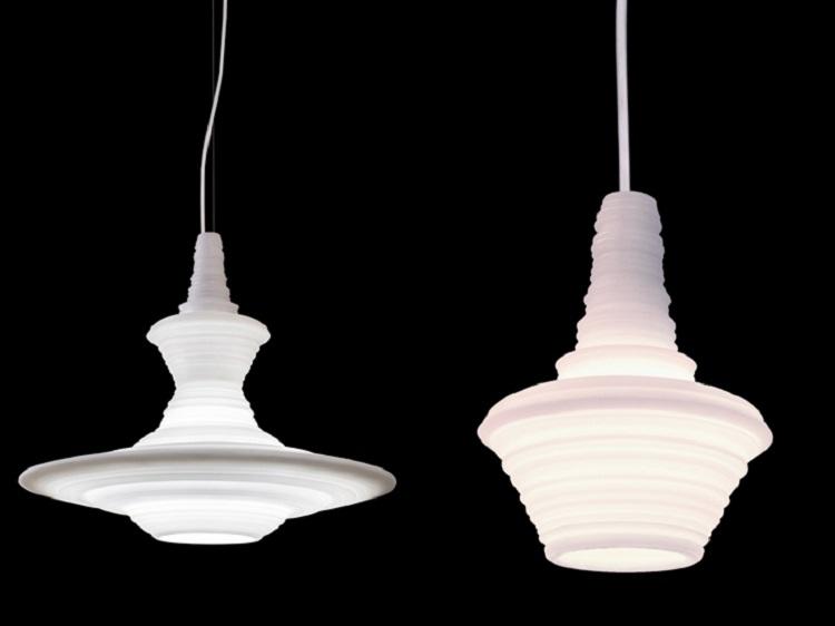 stupa Stupa White pendant lights launched at Maison & Objet Stupa White pendant lights launched at Maison Objet