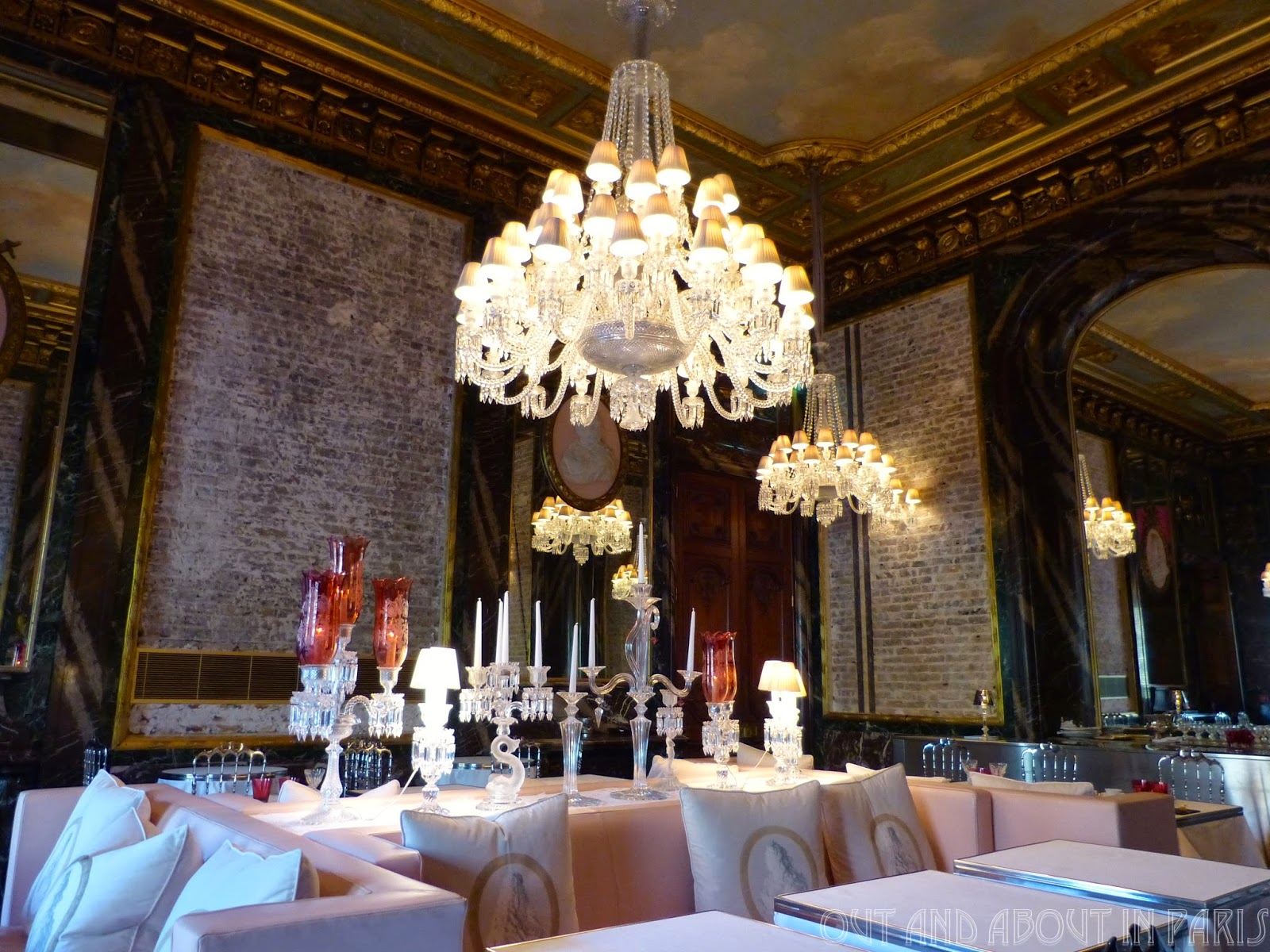 Top luxury restaurants at paris with unique design