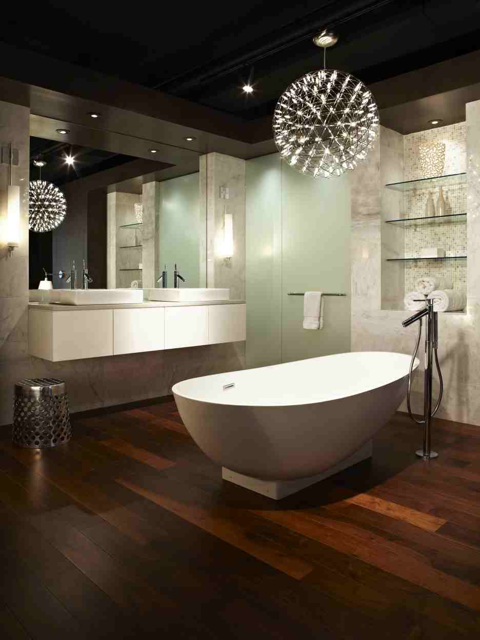 Lighting design ideas to decorate bathrooms lighting stores Modern contemporary bathrooms