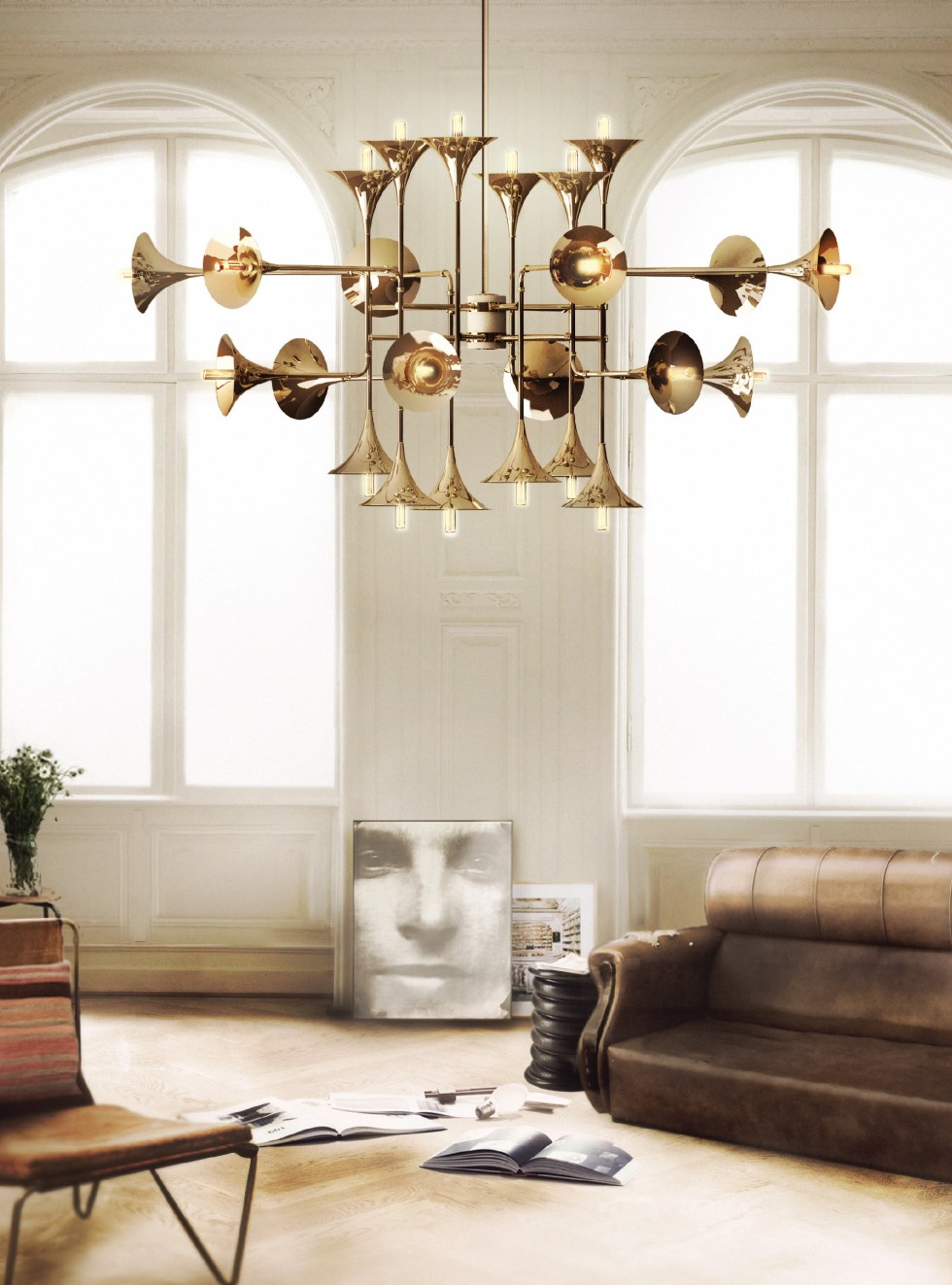 golden Luxury Rooms with lighting Golden Details Luxury Rooms with lighting Golden Details chandelier e1458554321833