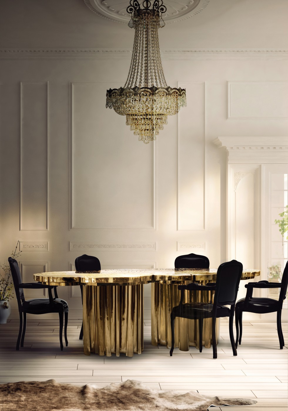 Luxury Dining Room Furniture: Lighting Ideas For Your Luxury Dining Room