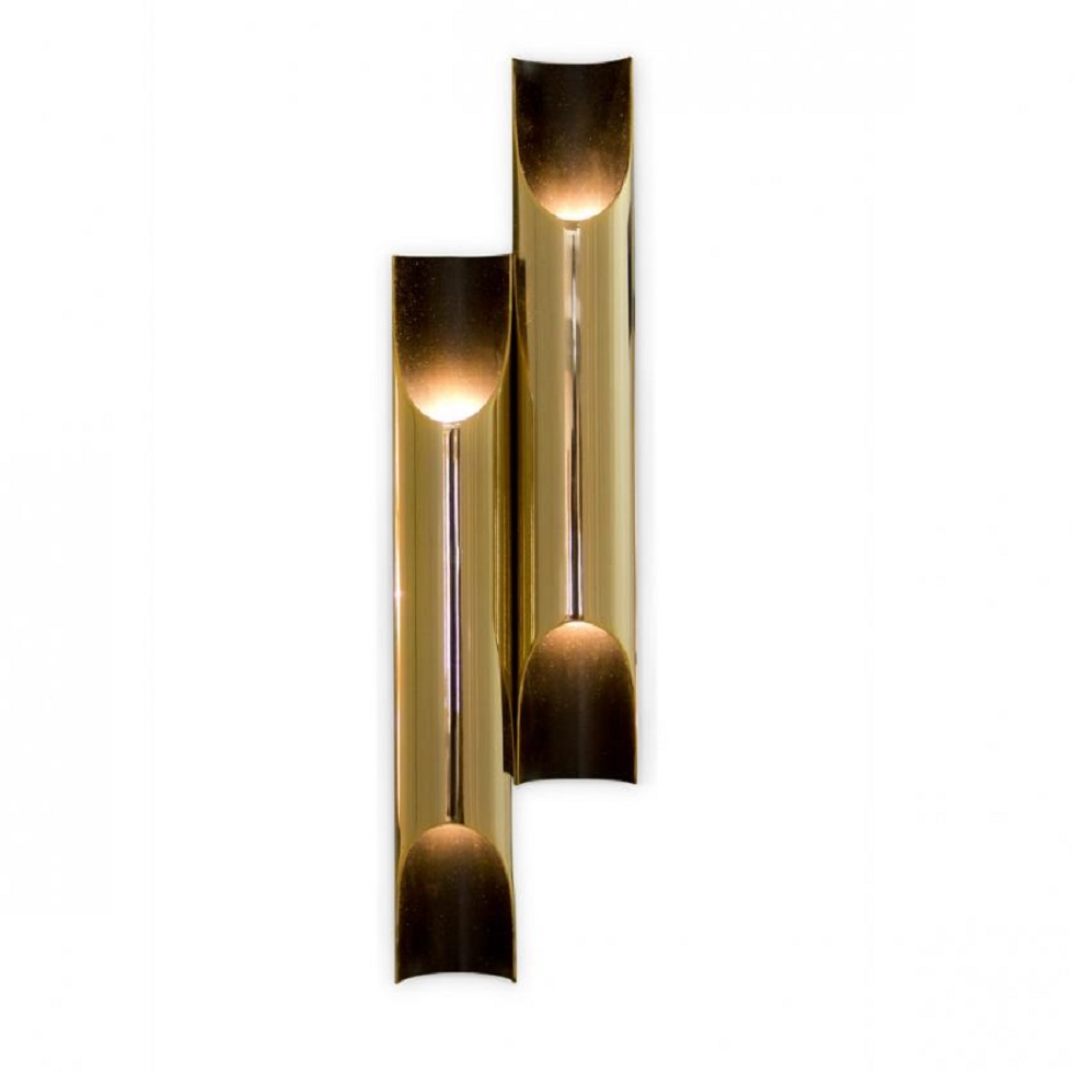 gold wall lamps galliano wall lamps Gold wall lamps to create a sophisticated decoration gold wall lamps galliano