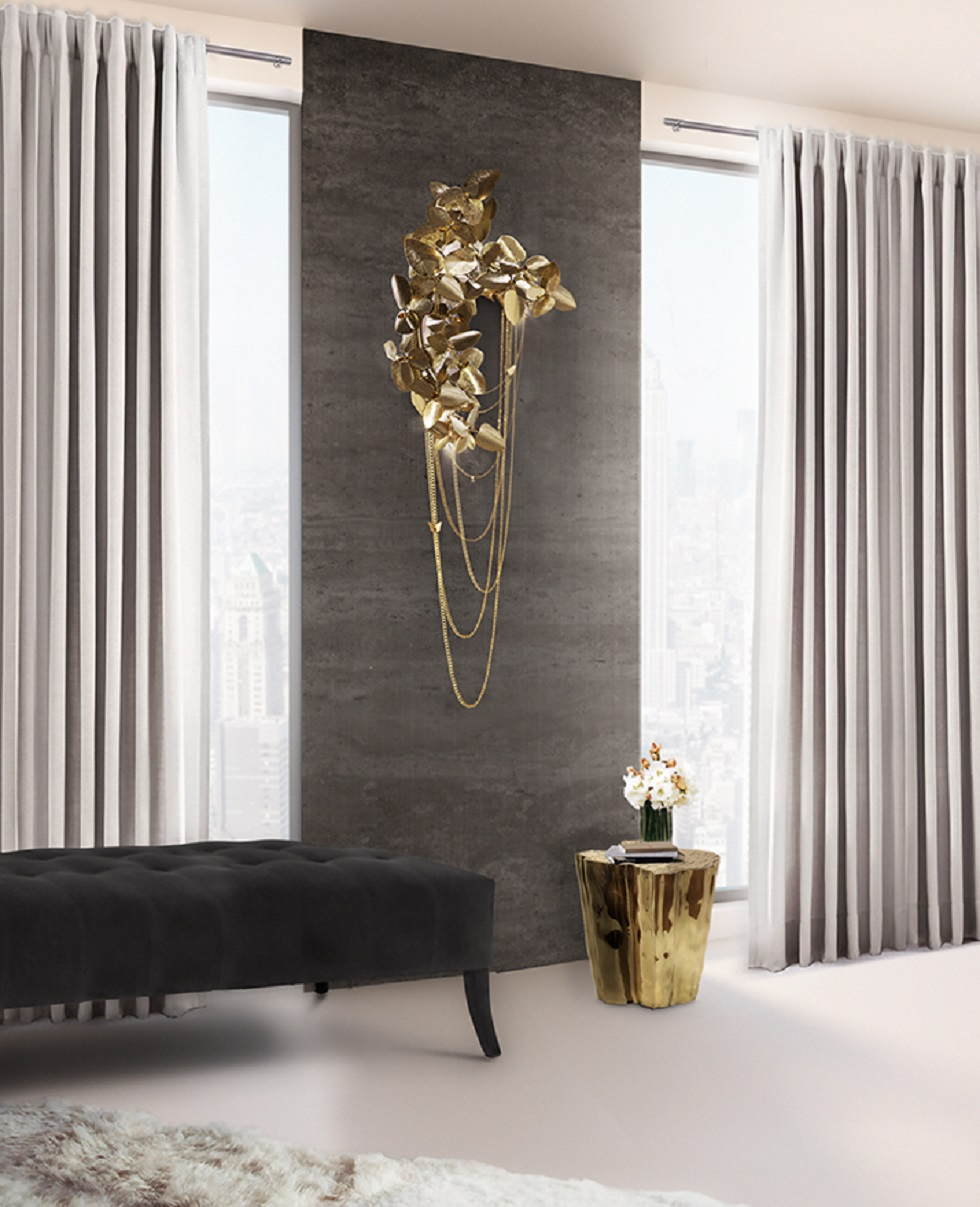 gold wall lamps mcqueen wall lamps Gold wall lamps to create a sophisticated decoration gold wall lamps mcqueen