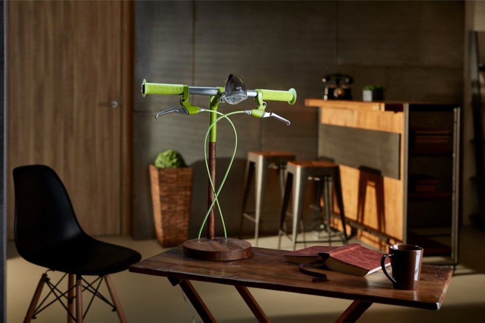 Find Bike desk lamp by Industrial Kid green desk lamp Find Bike desk lamp by Industrial Kid Find Bike desk lamp by Industrial Kid green 1 e1462271898152